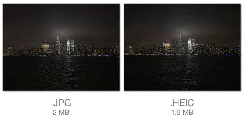 Apple JPEG'e elveda diyor…