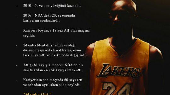 Kobe Bryant ın Ölümü
